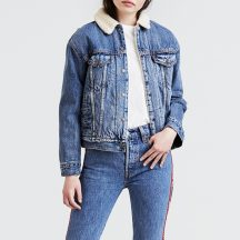 Levi's® női sherpa dzseki- SHERPA TRUCKER ADDICTED TO LOVE
