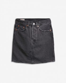 Levi's farmerszoknya-Washed Black