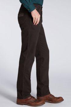 Wrangler Texas férfi nadrág-Dark Teak