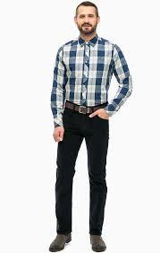 Wrangler Arizona férfi nadrág-cord-sötétkék