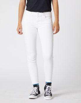 Wrangler női nadrág Skinny Crop -  Fehér