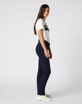 Wrangler Női nadrág-Straight-sötét kék
