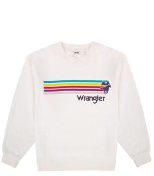 Wrangler Női pulóver-Fehér