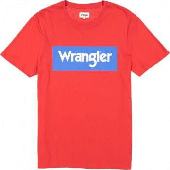 Wrangler® férfi póló -Regular-Piros/Kék