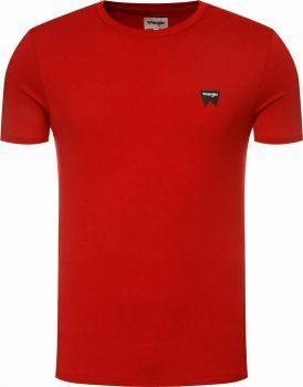 Wrangler® rövid ujjú  póló - Regular-Piros